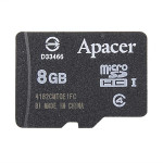 Apacer Micro 8G Class 4 SD Kort C4 TF Card Flash Memory Card iPhone 6 Plus