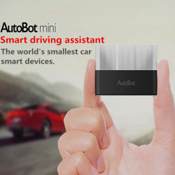 AutoBot Mini Smart Car Wearable Device Tachograph For iPhone iPad