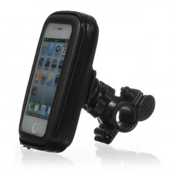 Bicycle Waterproof Phone Case Pouch Handlebar Mount Holder For iPhone4