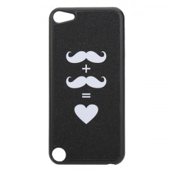 Bling Lovely Mustache Design Hard Back Case Cover For iPod Touch 5