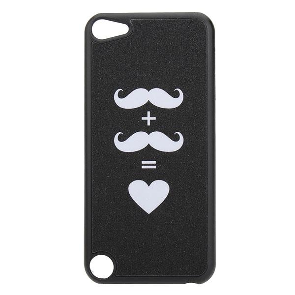 Bling Schöne Schnurrbart Entwurfs harte  Hülle Etui für iPod Touch 5 iPod Zubehör