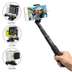 BlitzWolf™ Ultimate 4 Button Bluetooth Extendable Aluminium Selfie Stick Monopod