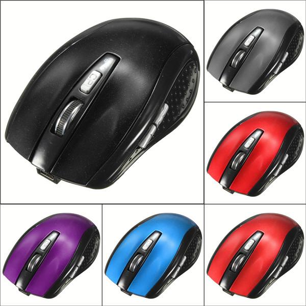 Bluetooth 3.0 Trådløs Optical Mouse 1200DPI til Mac Laptop MacBook Tilbehør