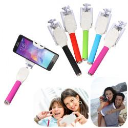 Bluetooth Utdragbar Slutar Telefon Hand Selfie Stick Monopod