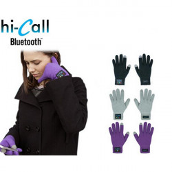 Bluetooth Gloves Unisex Touch Screen Magic Gloves Speaker For iPhone