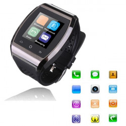 Bluetooth Smart Touch Armbanduhr Mate Synchronisierungs Anrufe