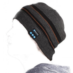 Bluetooth Stereo Headphone Music Soft Warm Beanie Hat With Gloves