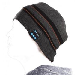 Bluetooth Stereo Hovedtelefoner Music Soft Warm Beanie Hat med Handsker