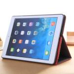 Bracket I Kortet Ställer PU PC Skyddande Skydd Fodral för iPad Air iPad Tillbehör