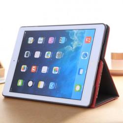 Beslag Insert Card Sets PU PC Beskyttende Cover Taske til iPad Air