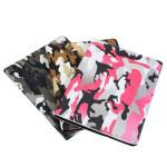 Camouflage Smart PU Läder Flip Ställ Hållare Fodral till iPad 3 iPad Tillbehör