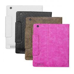 Klassisk Stickad Mönster Skyddsfodral för iPad 3 Random Sändning