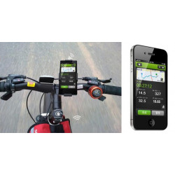 Codoon Bluetooth Waterproof Bicycle Anti-rattle Odometer For iPhone