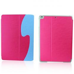 Farbblock Sleeping Schutz  Hülle Etui für iPad Air