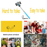 Colorful Bluetooth Remote Extendable Handheld Selfie Monopod iPhone 6 Plus