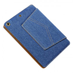 Cowboy Trousers Pocket Grain Protector Stand Case Cover For iPad Air