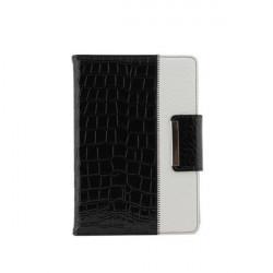 Krokodil Mönster Folio Roterande PU Läderväska till iPad Mini P3601