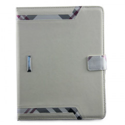 Crystal Grain Pattern Check Shape Case Cover For iPad 2