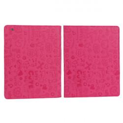 Gullig Tecknad Små Djur Läderfodral till iPad 2 3 4
