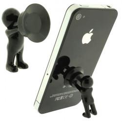 Cute Little Menschen Formstandplatz Halter für iPhone Smartphone Gerät