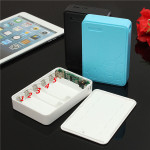 DIY 5*18650 Power Bank Battery Charger Box For iPhone Smartphone iPhone 6 Plus