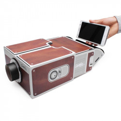 DIY Second -generation Smartphone Projector For iPhone Android Phones