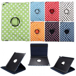 Dot 360° Rotating PU Läder Flip Ställ Smart Fodral For iPad Air 2