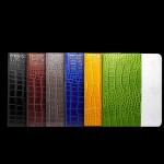 Dubbelfärg Crocodile Embossed PU Läderväska till iPad Mini iPad Tillbehör