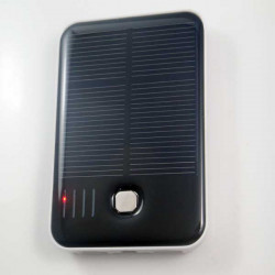 Dual USB 5000mAh Solar Charger Power Bank Cover For iPhone Smartphone