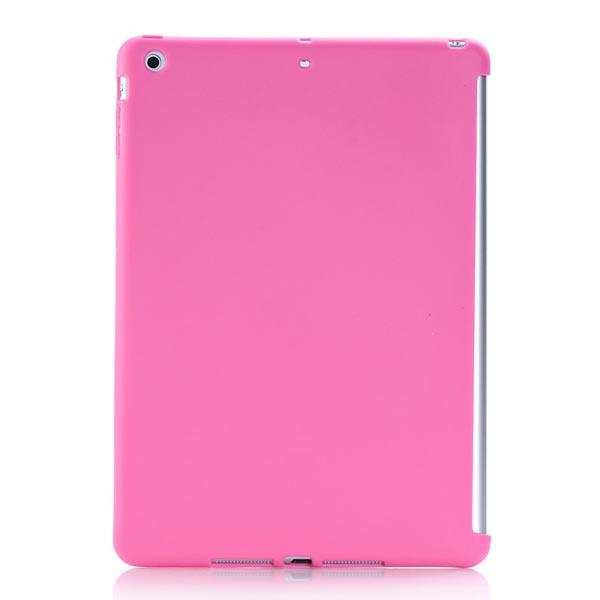 Tålig TPU Gummi Gel Mjukt Bak Fodral Skydd för iPad Air iPad Tillbehör