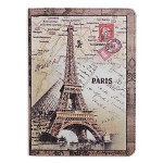 Eiffel Tower Grain Pattern PU Leather Case Cover For iPad Air iPad Accessories