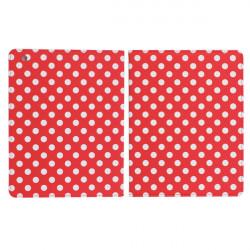 Mode Söt Dots Läderväska till iPad 2 3 4