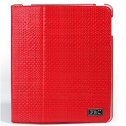 Fashion Genuine Leather Protective Case Cover For iPad 2 3