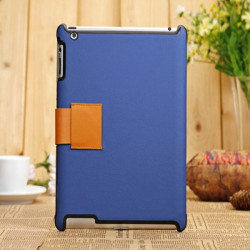 Fashion New Brand Fine Workmanship Leather Case For iPad 2 3