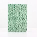 Mode Struts Grain Design Flip PU Läderfodral Skydd för iPad Mini iPad Tillbehör