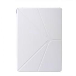 Fashion Transparent Magnetisk Läderfodral Skydd för iPad Air