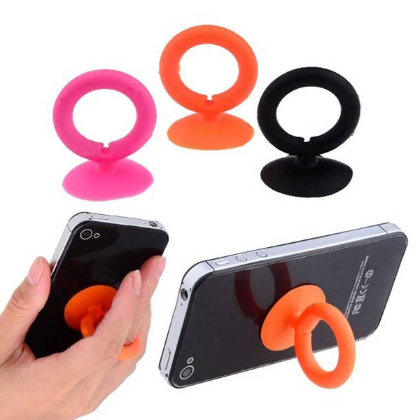 Finger Ring Shape Soft Silicone Stand For iPhone Random Shipment iPhone 5 5S 5C