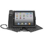 Vikbar Trådlöst Bluetooth-tangentbord Hållare Fodral Skydd för iPad 2 3 iPad Tillbehör