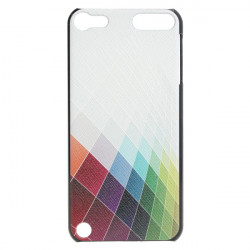 Gradient Farver Læder Embossment Effect Taske til iPod Touch 5