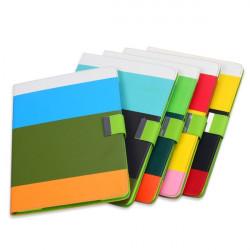 Hybrid Färgglada Plånbok Flip PU Läderfodral Skydd för iPad Air