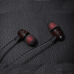 Ivery Holz Kopfhörer In Ear Smart Phone Mikrofon Kopfhörer Headset