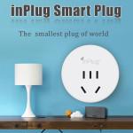 Inplug Trådlös Wifi Smart Plug Hem Socket för iPhone Smartphone iPhone 5 5S 5C