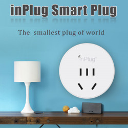Inplug drahtlose Wifi Smart Plug Start Buchse für iPhone Smartphone