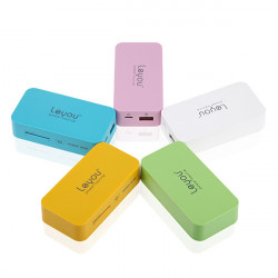 LeYou LY580 5600mAh Portable Power Bank For iPhone Cellphone iPad