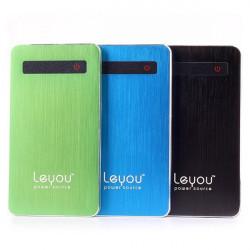 Leyou LY960 5000mAh Portable PowerBank för iPhone Mobiltelefon iPad