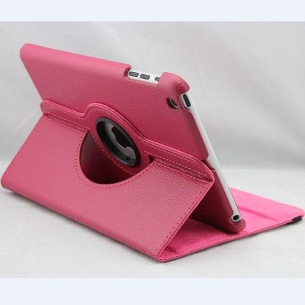 Litchi Mönster Läderfodral Med Stativ för iPad Mini Random Sändning iPad Tillbehör