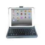 Lyx Bluetooth Trådlös Tangentbord Fodral Med Snap Gemensamma för iPad Mini iPad Tillbehör
