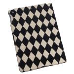 Lyx Rhombus Ådringsmönster Ställ Fodral Skydd för iPad Air iPad Tillbehör