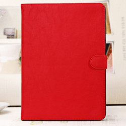 Luksus Slim Pure Color PU Læder Stativ Cover Etui til iPad Air
