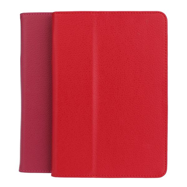 Lyx Style Smart PU Mål Med Folding Ställ för iPad Mini iPad Tillbehör